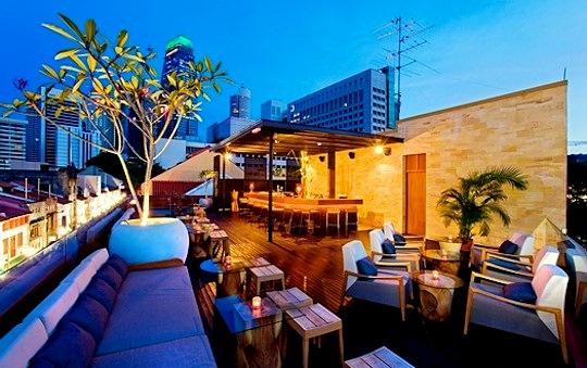 4 Fantastic Restaurant Interior Designs in Singapore