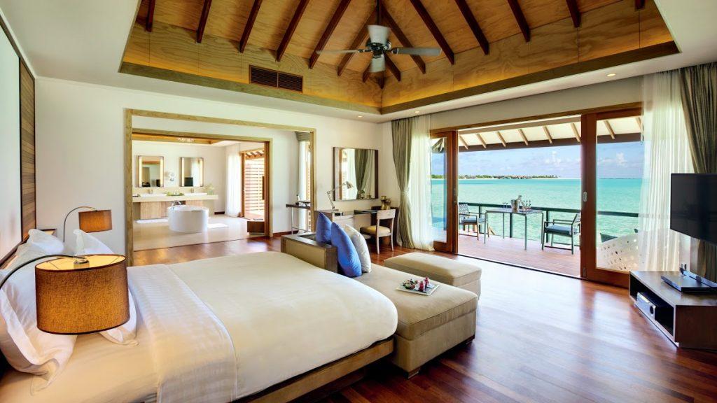 hideaway maldives hotel interiors