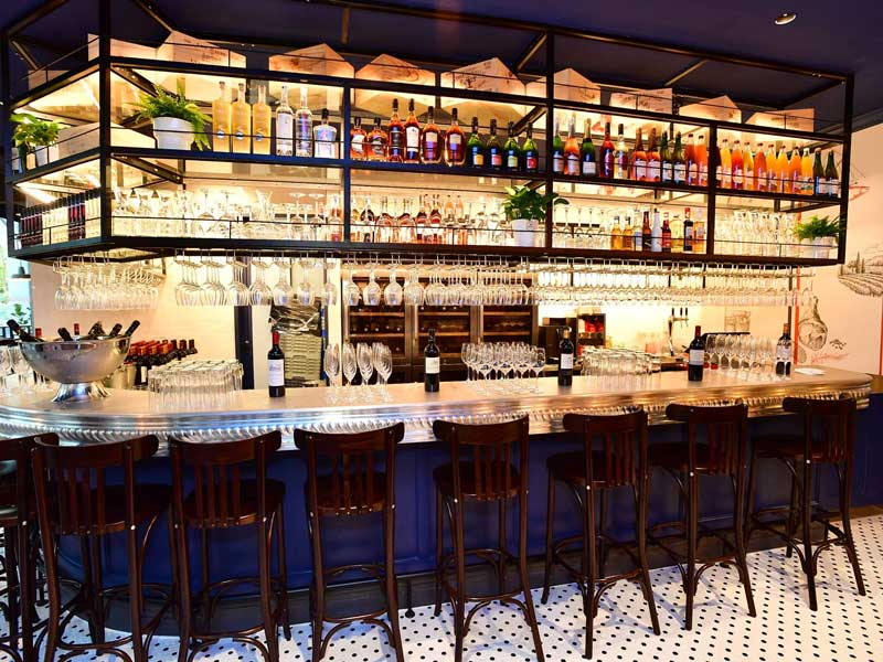 so france bar interior design supplier