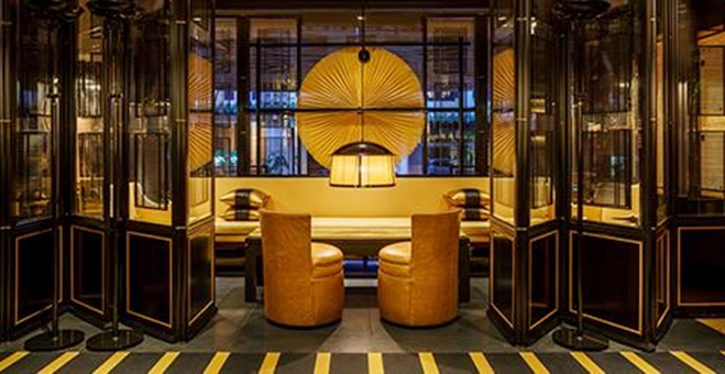 yellow pot singapore restaurant furniture design