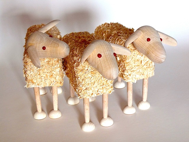 recycled sheep